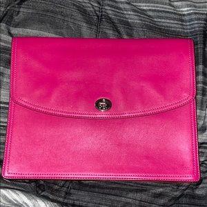 COACH Envelope Purse/Tablet Case (Hot Pink)